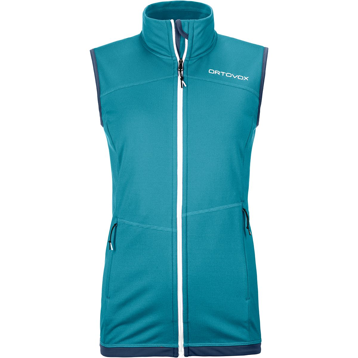 Ortovox Damen Fleece Light Weste (Größe S, Türkis) | Fleecewesten > Damen