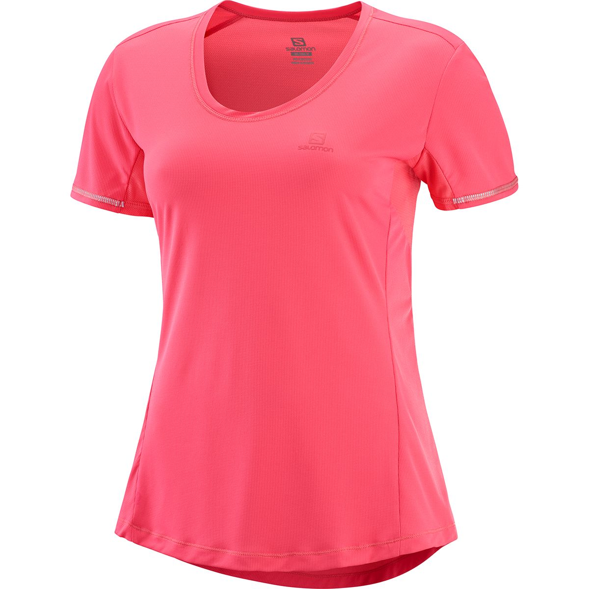 Salomon Damen Agile T-Shirt (Größe M, Rot) | T-Shirts Funktion > Damen