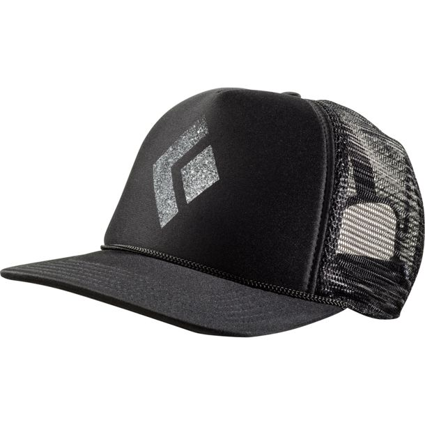 a4258cbd2778d Black Diamond Men s Flat Bill Trucker Hat black-white ...