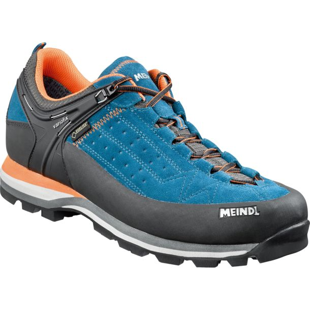 Herren Literock GTX Schuhe blau orange UK 7.5