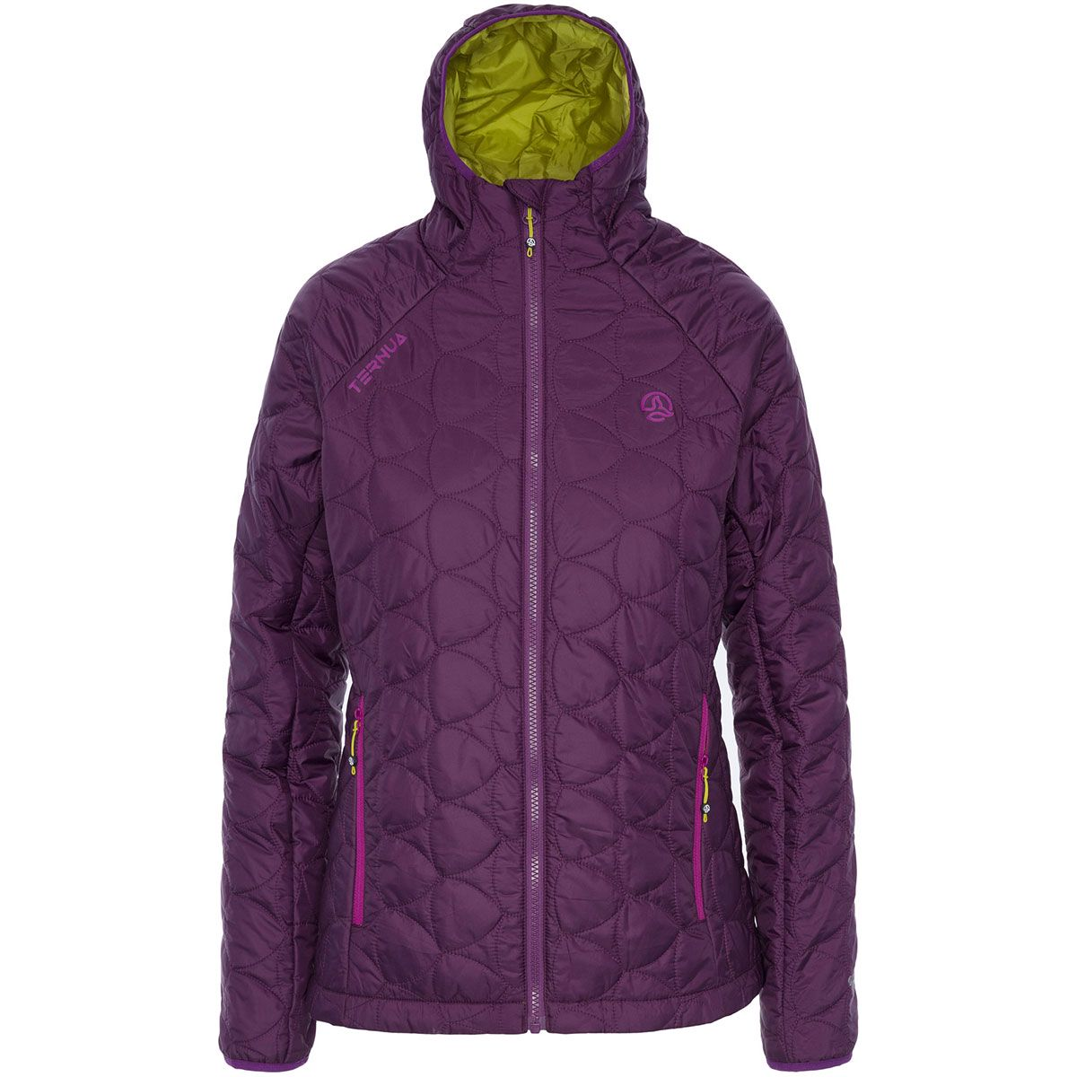 Ternua Damen Longs Peak Jacke (Größe XS, Lila) | Isolationsjacken > Damen