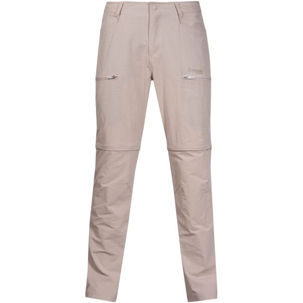 zip off hose damen beige