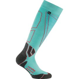 Rohner Women's Carving W's Ski Sock white-pink