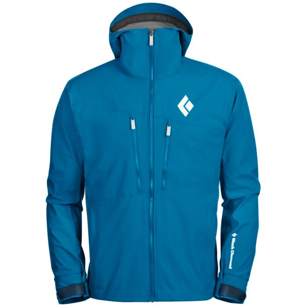 Black Diamond Men's Dawn Patrol Hybrid Shell Jacket sapphire S
