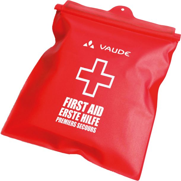 Vaude First Aid Kit Essential Waterproof red-white