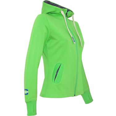 Chillaz Women's Sabby's W's Hoody Jacket neon green 34