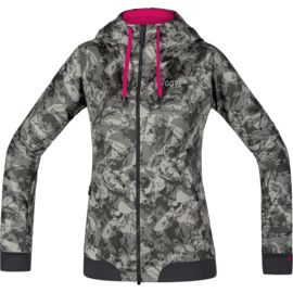 Gore Wear Damen C5 Trail Camo Hooded Jacke