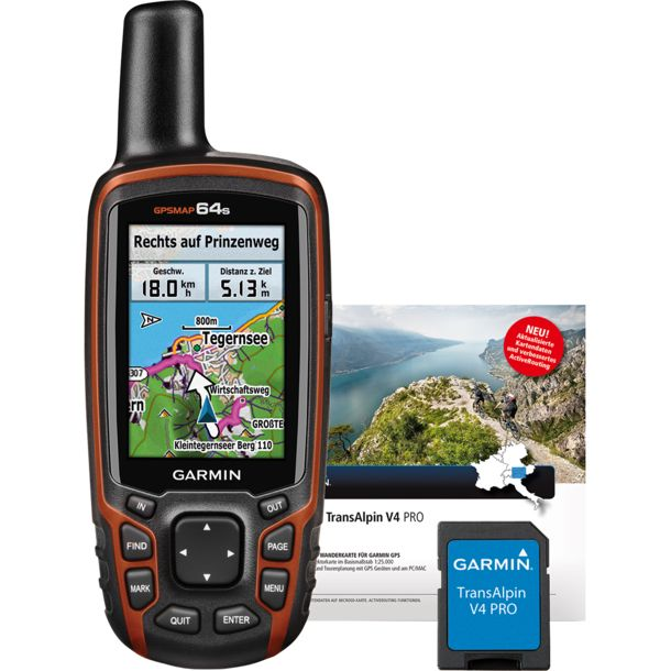 Map 64s TransAlpin Pro GPS Bundle Garmin Map S on garmin 62st, garmin 50lm, garmin 50s, garmin etrex 10, garmin 60csx, garmin 70s, garmin edge touring plus, garmin 62s, garmin carrying case 64 st,
