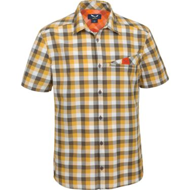 Salewa Men's Valparola Dry S/S Shirt M snow-nugget-tarmac S