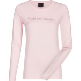 Peak Performance Damen Logo Shirt Longsleeve