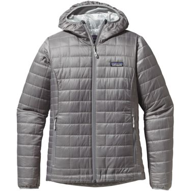 Patagonia Damen Nano Puff Hoody feather grey XS