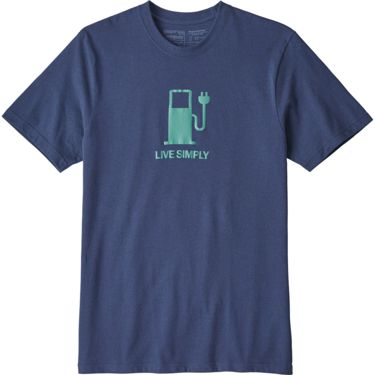 Patagonia Herren Live Simply Power T-Shirt dolomite blue S