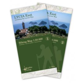 MapSite Verlag Lycia East - Hiking Map