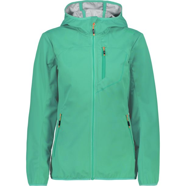 Softshell Damen Aquamint 44 Hoodie Jacke Light rdxeQCWBo