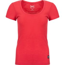 Super.Natural Damen Comfort Rib T-Shirt