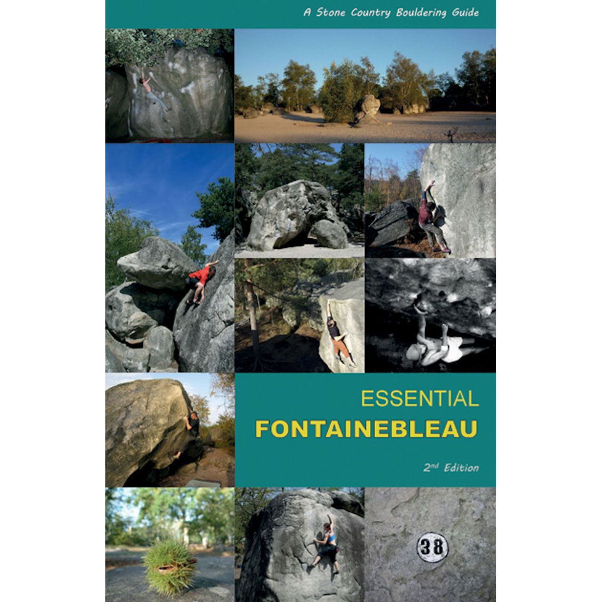 Image of Stone Country Press LTD Essential Fontainebleau, 2nd edition