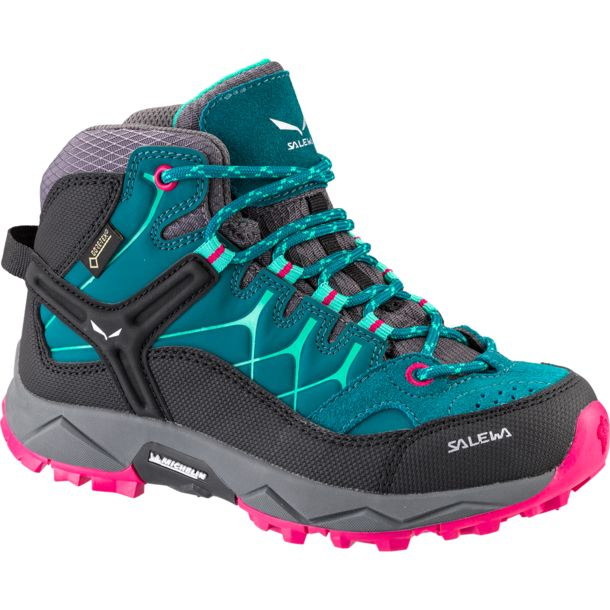 premium selection 71c33 efab3 Kinder Alp Trainer Mid GTX Schuhe shaded spruce-rose red 38