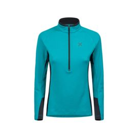 Montura Damen Next To Skin Maglia Zip-Shirt