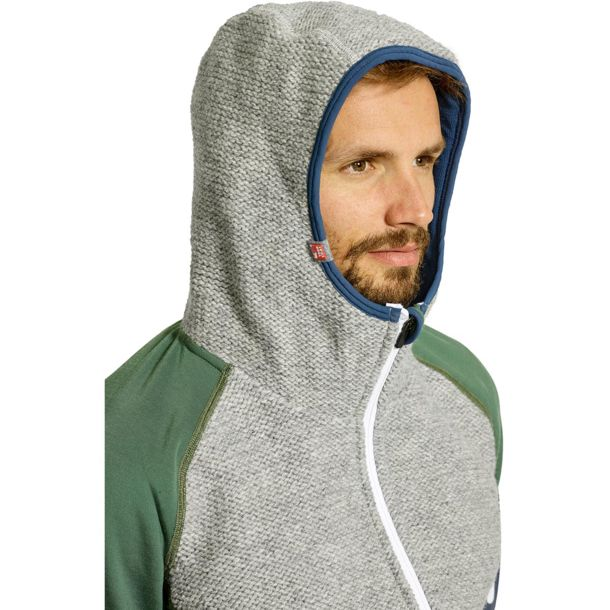 neue Kollektion kosten charm neue Fotos Men's Fleece Plus Classic Knit Hoody green forest S