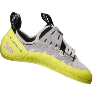 La Sportiva Damen Geckogym Kletterschuhe grey-apple green 34