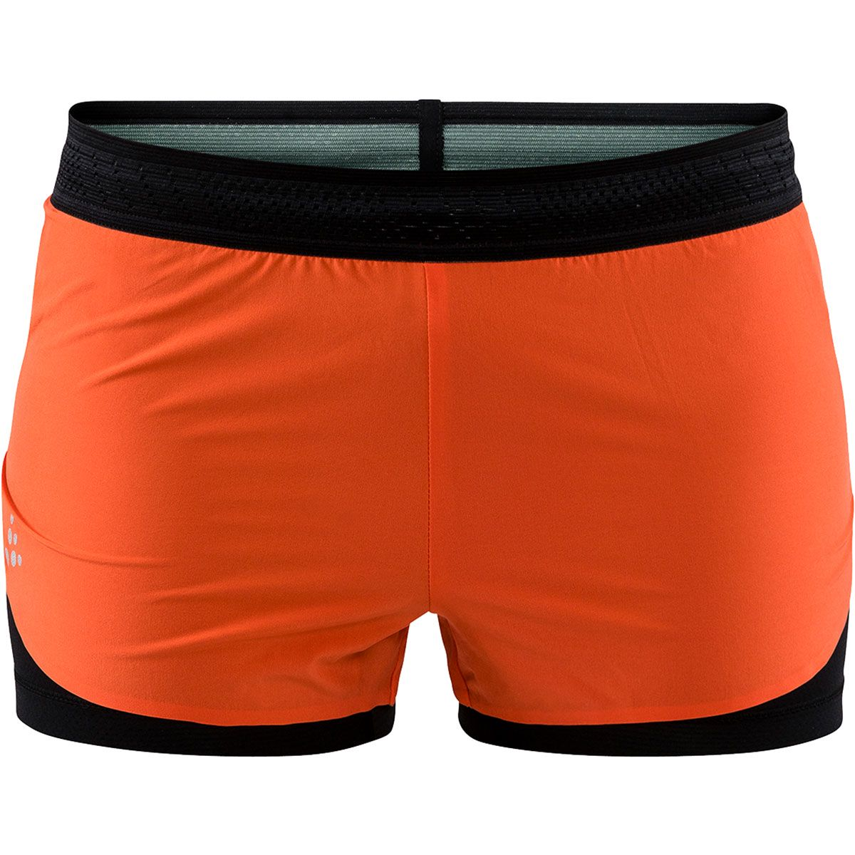 Craft Damen Nanoweight Shorts (Größe M, Orange) | Laufhosen > Damen