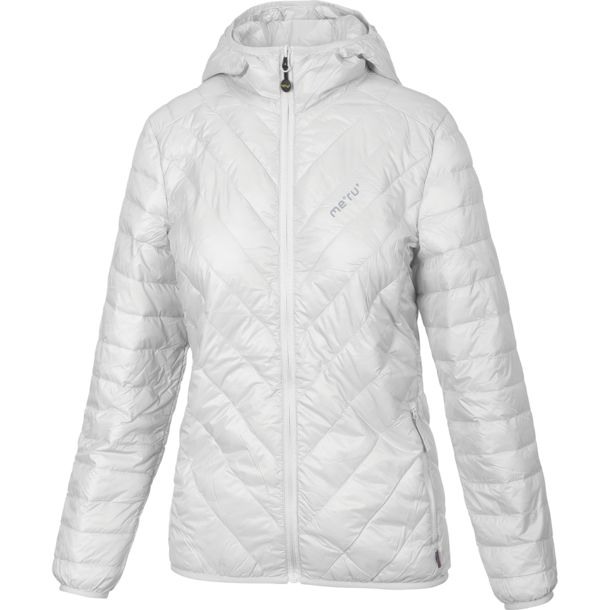 Meru Women's Sherbrooke Ultralight Padded Solid Jacket cloud dancer XS