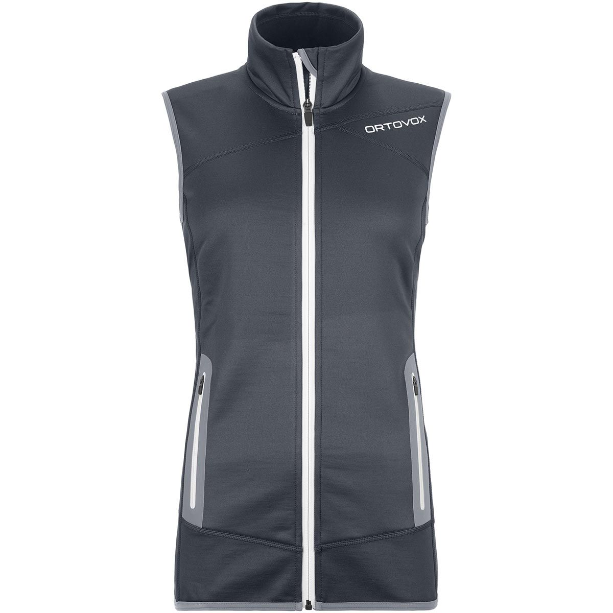 Ortovox Damen Fleece Weste (Größe XL, Grau) | Fleecewesten > Damen