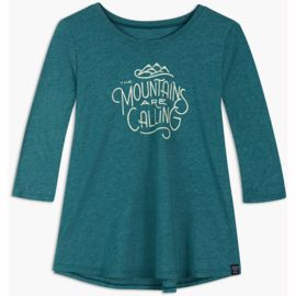United by Blue Damen And I Must Go 3/4 Longsleeve