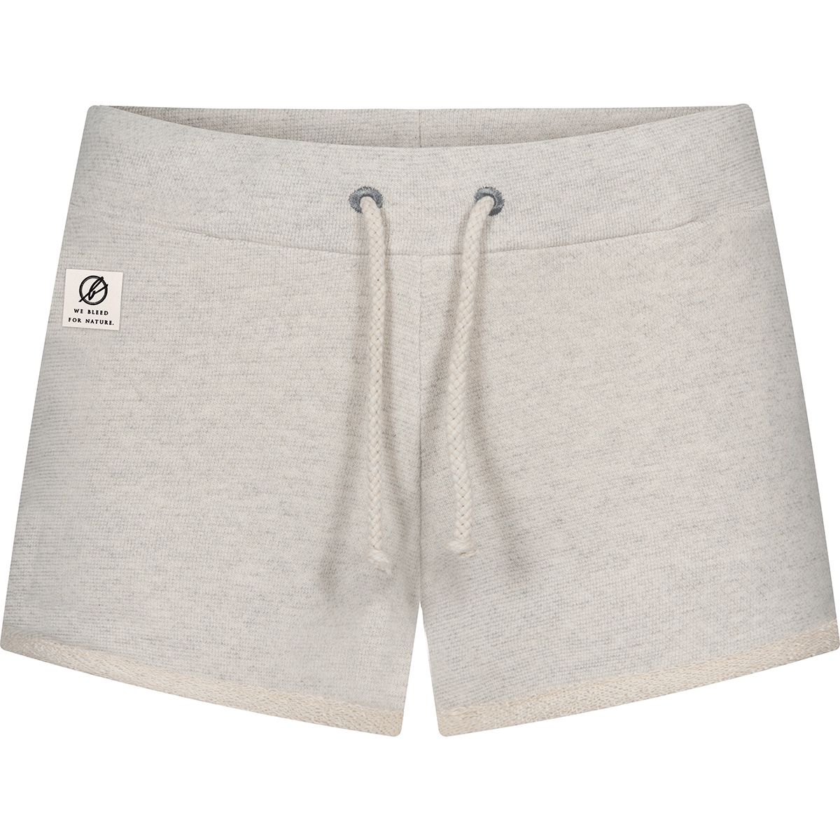 Bleed Damen Natural Sweat Shorts (Größe M, Weiß) | Kurze Hosen > Damen