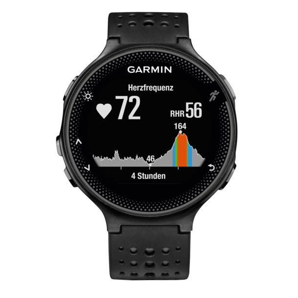 garmin forerunner 235 whr gps uhr schwarz grau kaufen. Black Bedroom Furniture Sets. Home Design Ideas