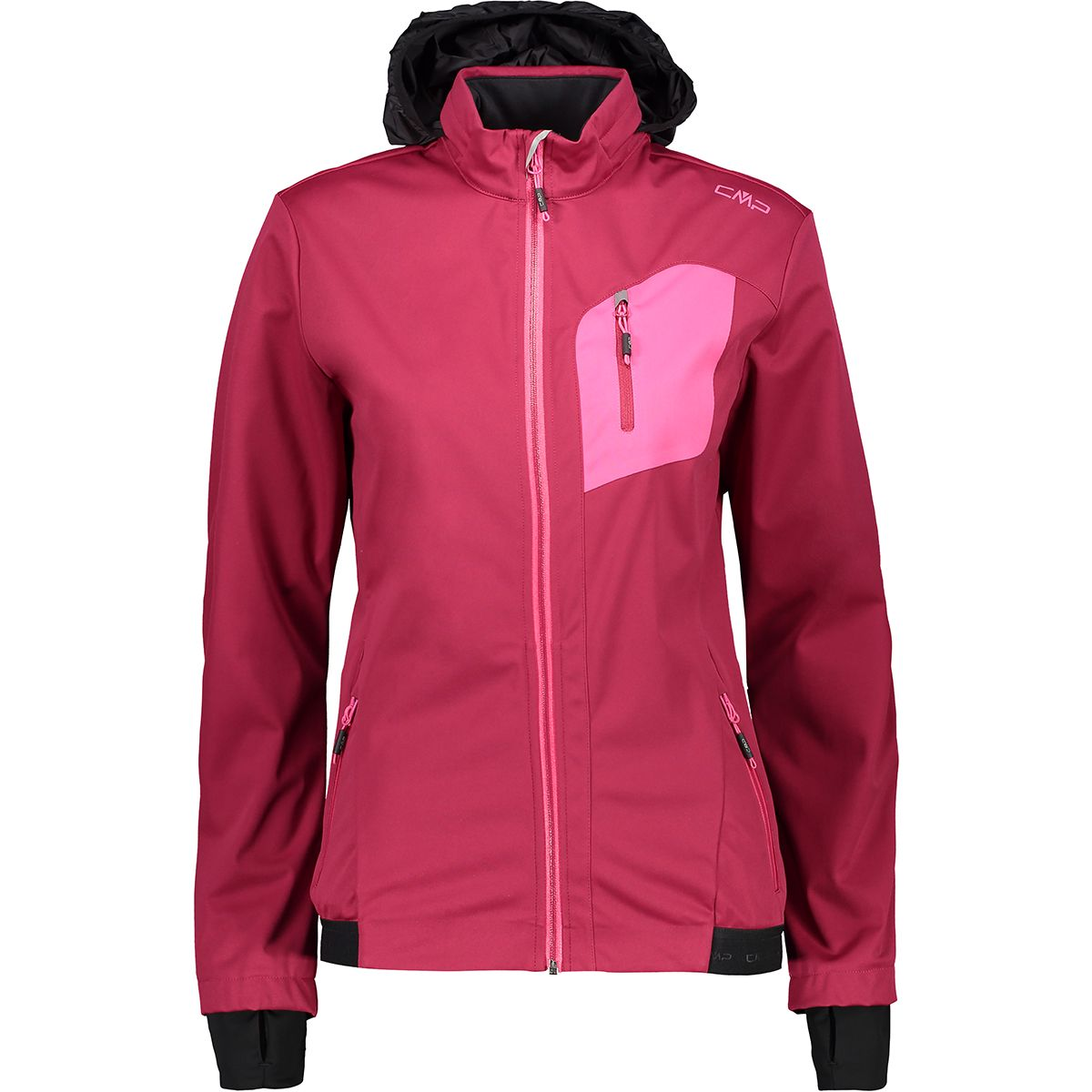 CMP Damen Light Softshell Jacke (Größe XS, Pink) | Softshelljacken > Damen