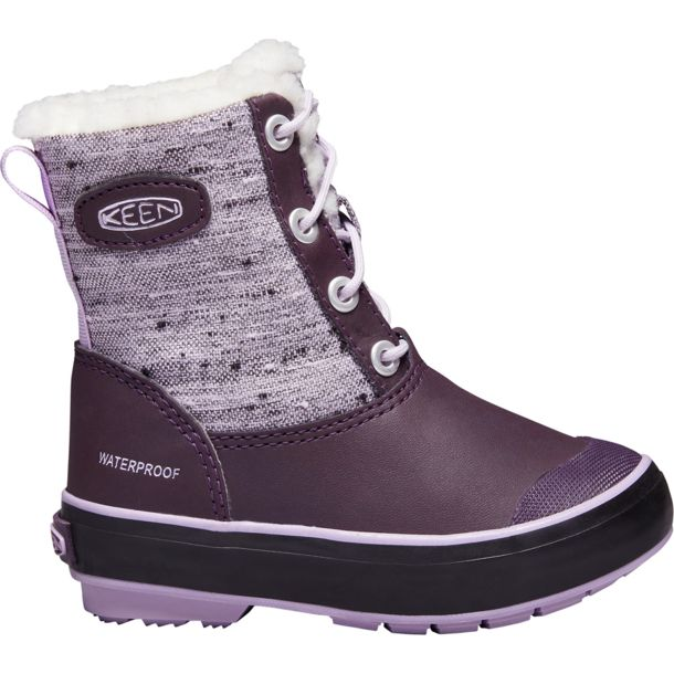 keen kinder elsa boot wp schuhe plump pastel lilac us 1. Black Bedroom Furniture Sets. Home Design Ideas