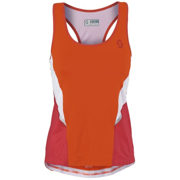 Scott Women's Shadow Tank W's Bike Jersey orange/red S