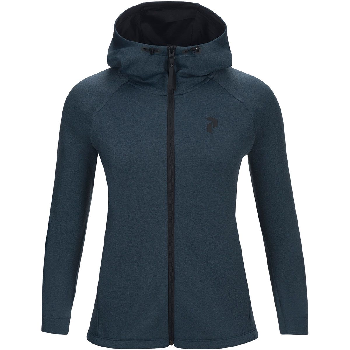 Peak Performance Damen Pulse Jacke (Größe M, Blau) | Fleecejacken > Damen