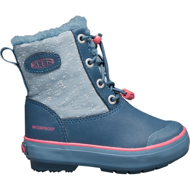 keen kinder elsa boot wp schuhe captains blue sugar coral. Black Bedroom Furniture Sets. Home Design Ideas