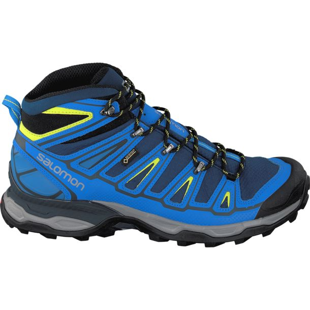 Salomon Men's X Ultra Mid 2 GTX Shoe blue depth-union blue UK7.5