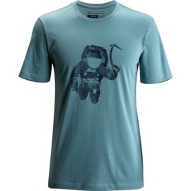 Black Diamond Heren Spaceshot T-Shirt