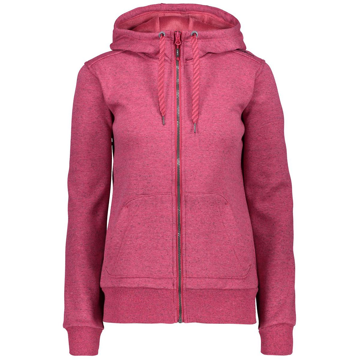 Damen Stretch Fleece Jacke Rot M