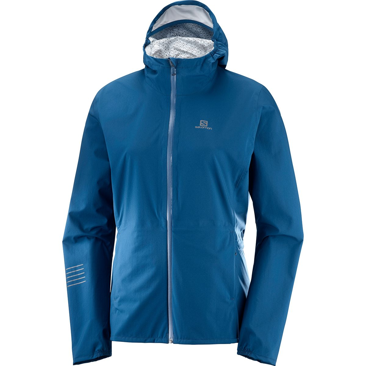 Salomon Damen Lightning WP Jacke (Größe XS, Blau) | Windbreaker > Damen