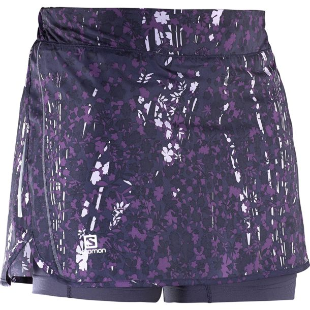 Salomon Women's Agile W's Skort nightshade grey XS