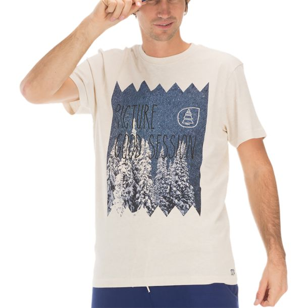 Picture Men's Session Tee beige S