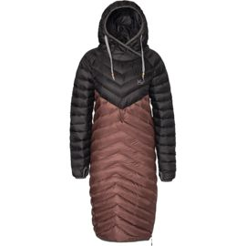 Varg Damen Sarek Down Hooded Mantel