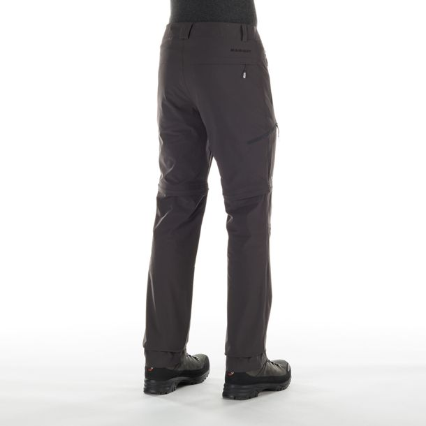Mammut Herren Runbold Zip Off Hose graphite LONG-46