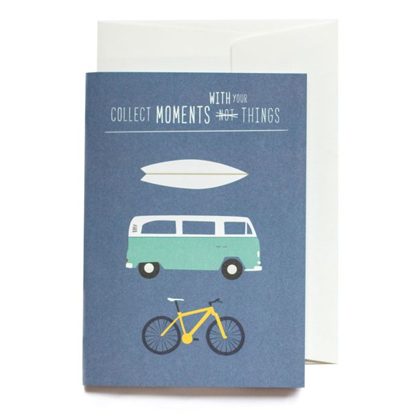Roadtyping collect moments with your things greeting card buy online roadtyping collect moments with your things greeting card m4hsunfo