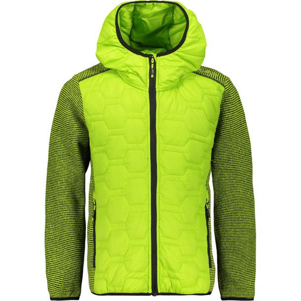 Kinder Boys Flat Fleece Jacke limegreen EU 104