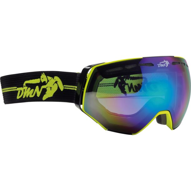 b45d8b2f14 Buy Demon Alpiner Ski Goggles yellow One Size online