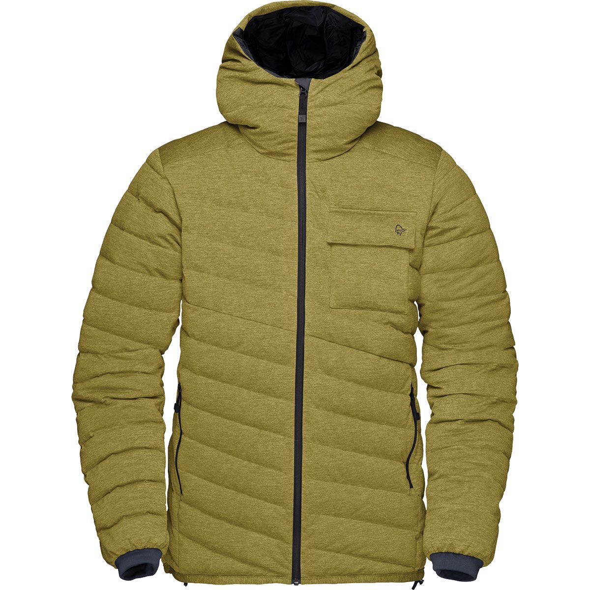 Norrona Damen Tamok Lighteight Down 750 Jacke (Größe XS, Oliv) | Isolationsjacken > Damen