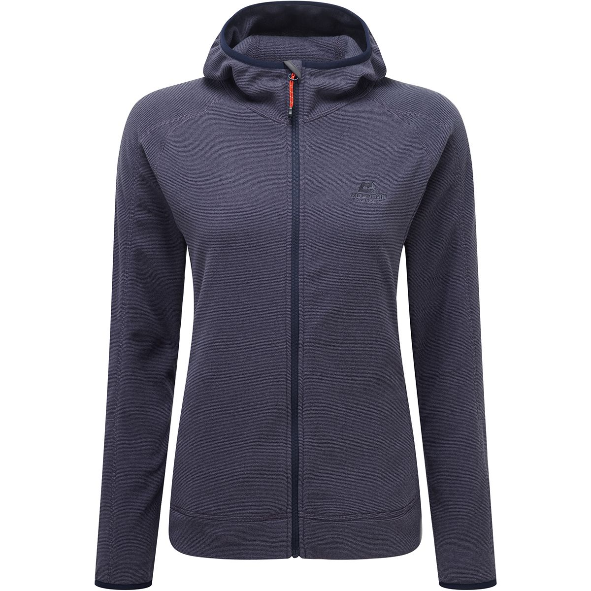 Mountain Equipment Damen Diablo Hooded Jacke (Größe XS, Blau) | Fleecejacken > Damen