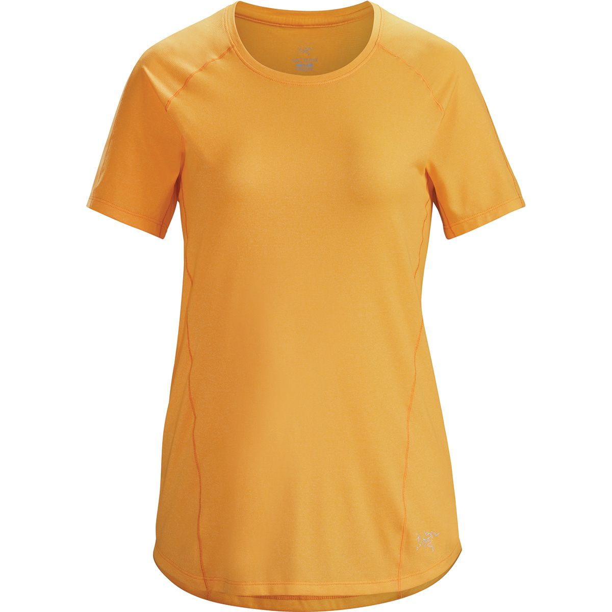 Arcteryx Damen Tolu Top T-Shirt (Größe M, Orange) | T-Shirts Funktion > Damen