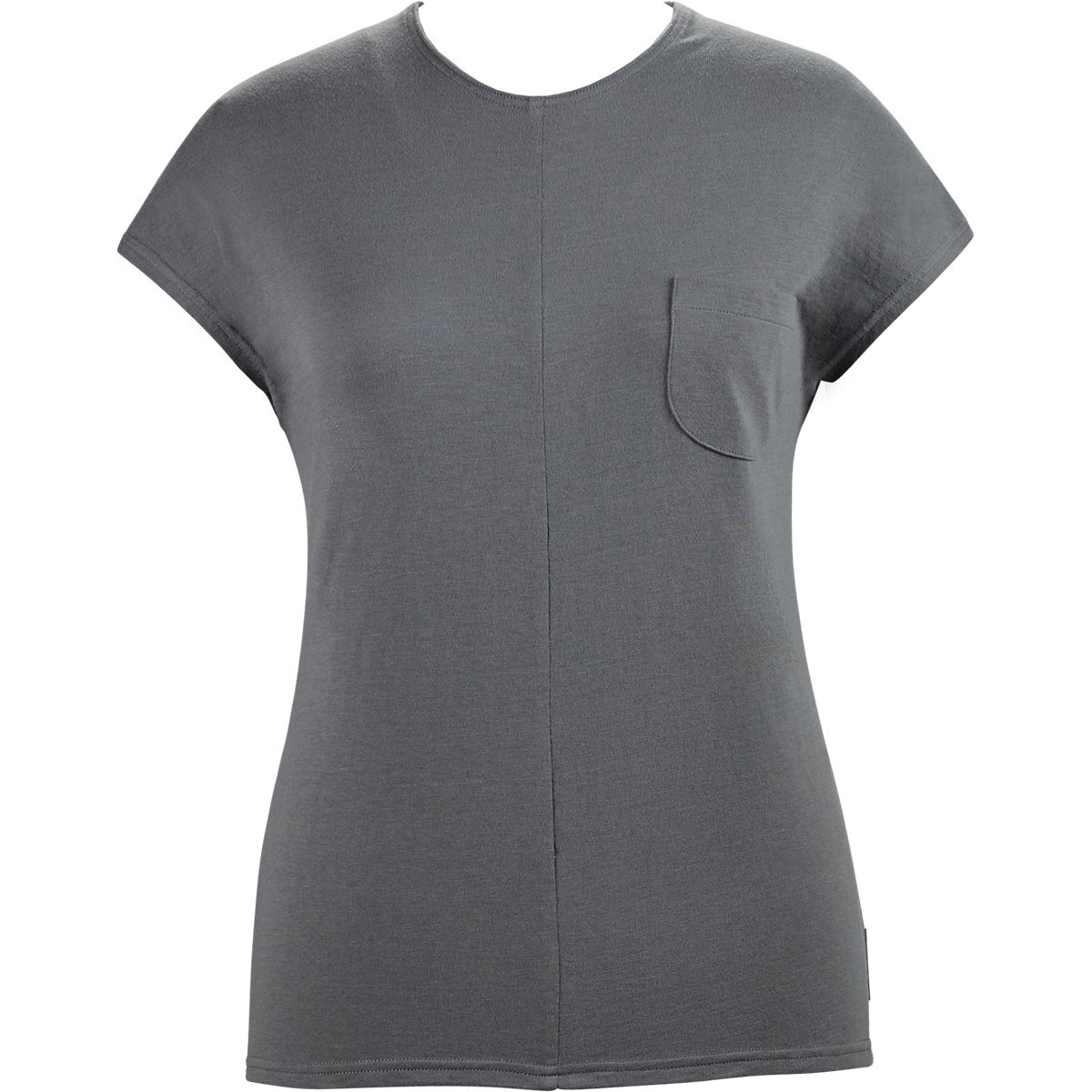 Alchemy Equipment Damen Cotton Luxe T-Shirt (Größe XS, Grau) | T-Shirts Freizeit > Damen